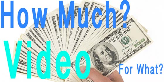 Video production cost